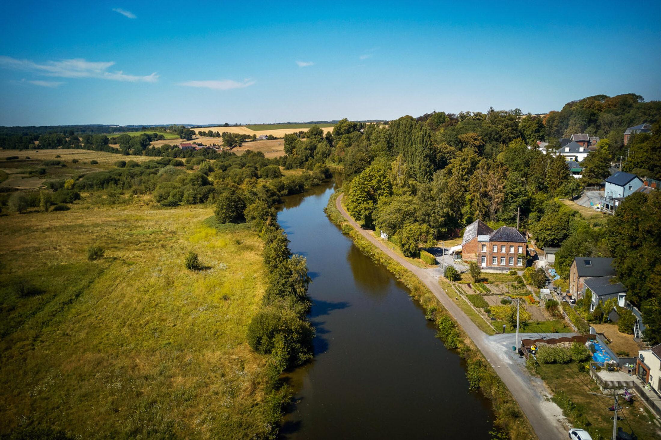 Développement du tourisme fluvial dans les communes de Charleroi Métropole traversées par la Sambre ou par le Canal du centre