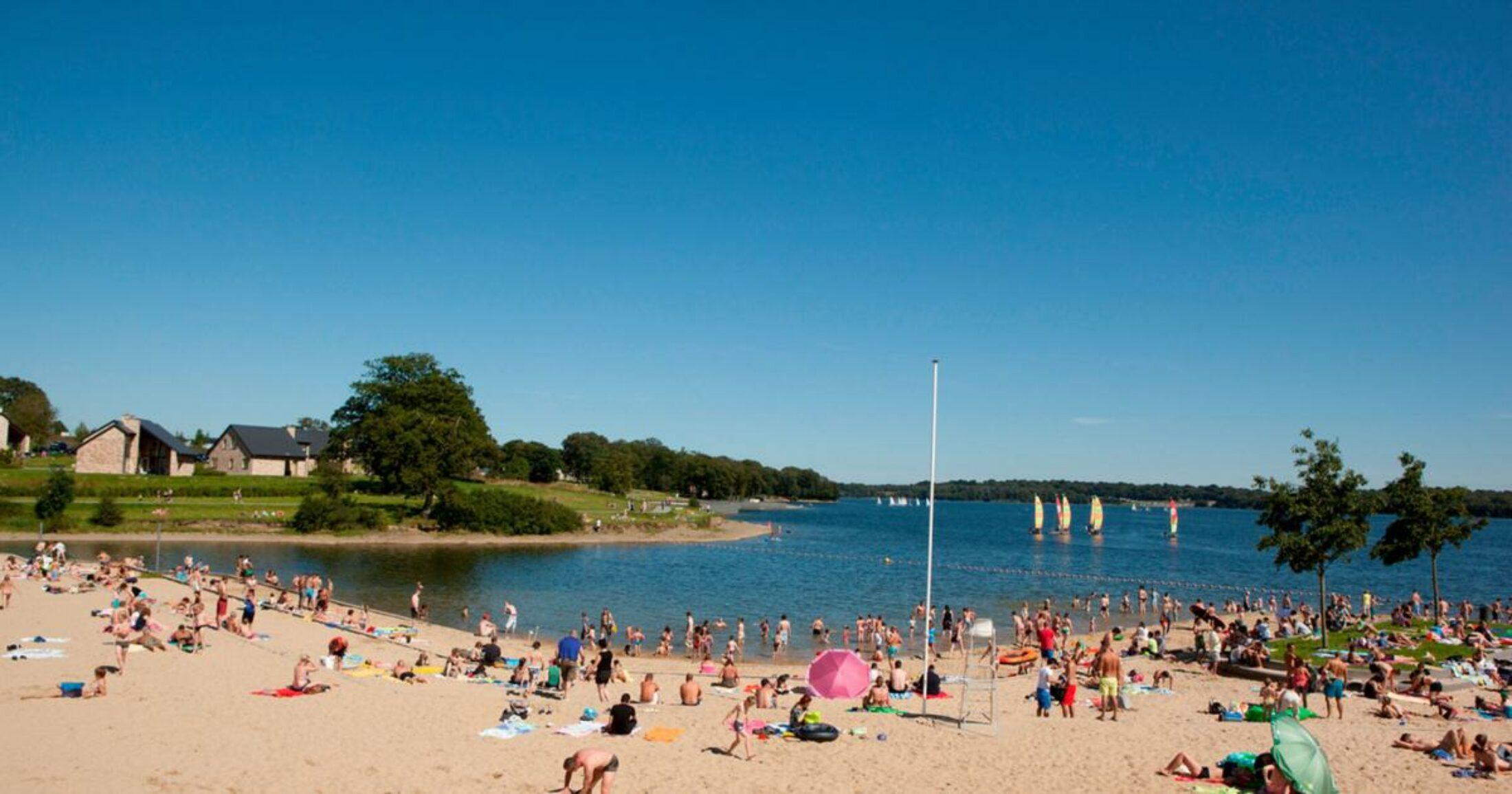 Waar in Charleroi Métropole kunt u deze zomer zwemmen in openlucht?
